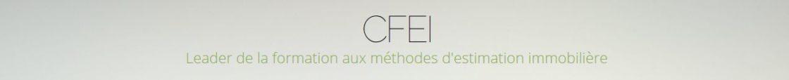 CFEI Leader de la formation à l'expertise immobilière