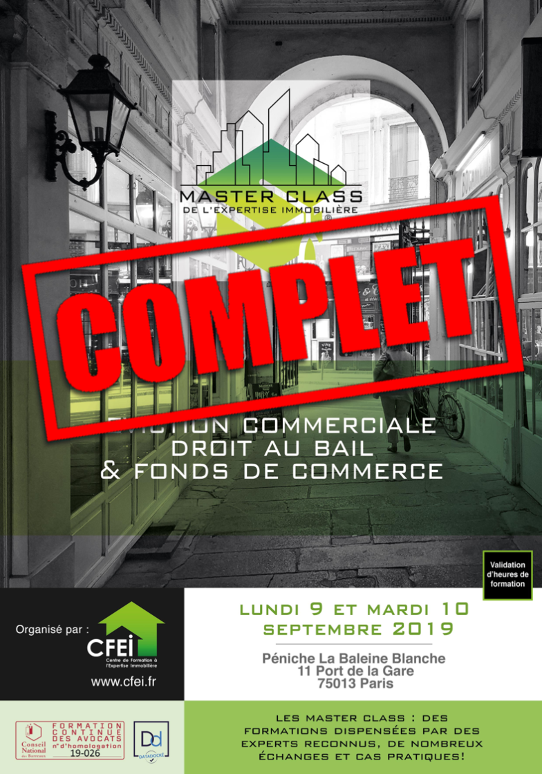 MASTER CLASS EXPERTISE IMMOBILIÈRE COMPLET 3