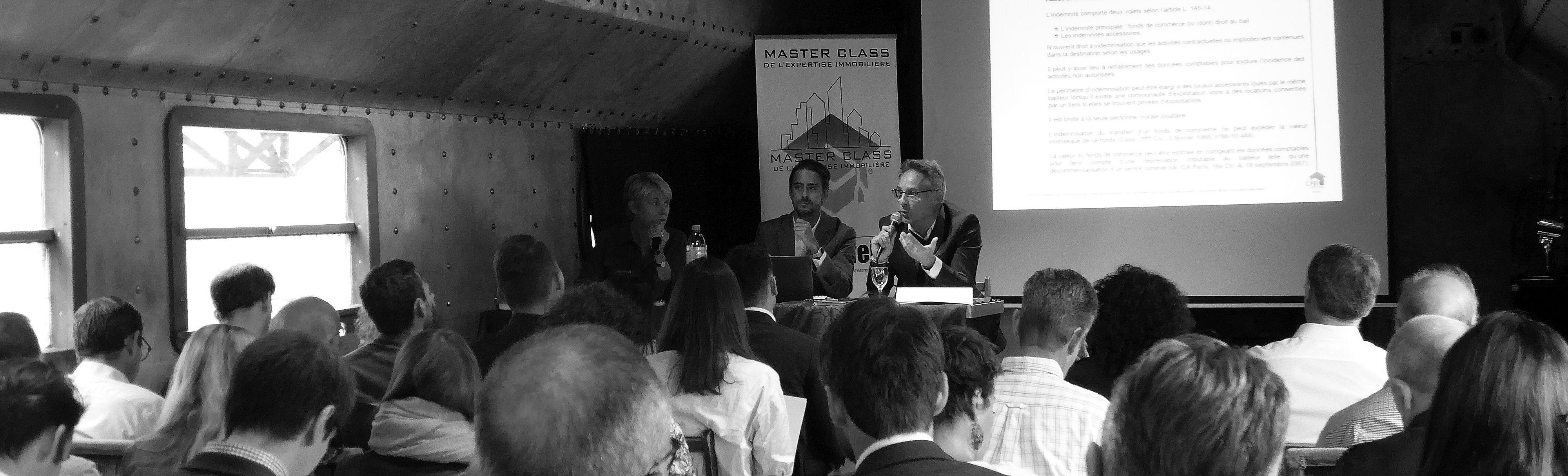 Philippe FAVRE-REGUILLON, expert immobilier, intervenant lors des Master class de l'expertise immobilière