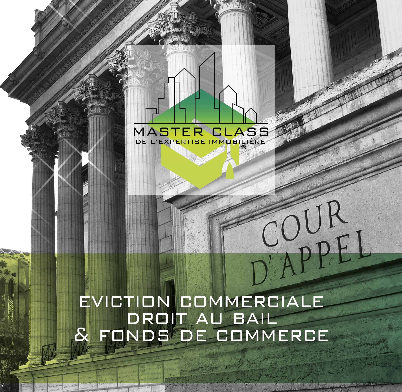 Master class de l'expertise immobilière sur le thème de l'éviction commerciale avec les experts : Françoise MAIGNE GABORIT, Philippe FAVRE-REGUILLON et Raphaël GARRAUD