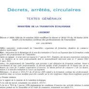 Formation des professionnels de l'immobilier : le décret n°2020-1259 du 14 octobre 2020 modifie le contenu des formations