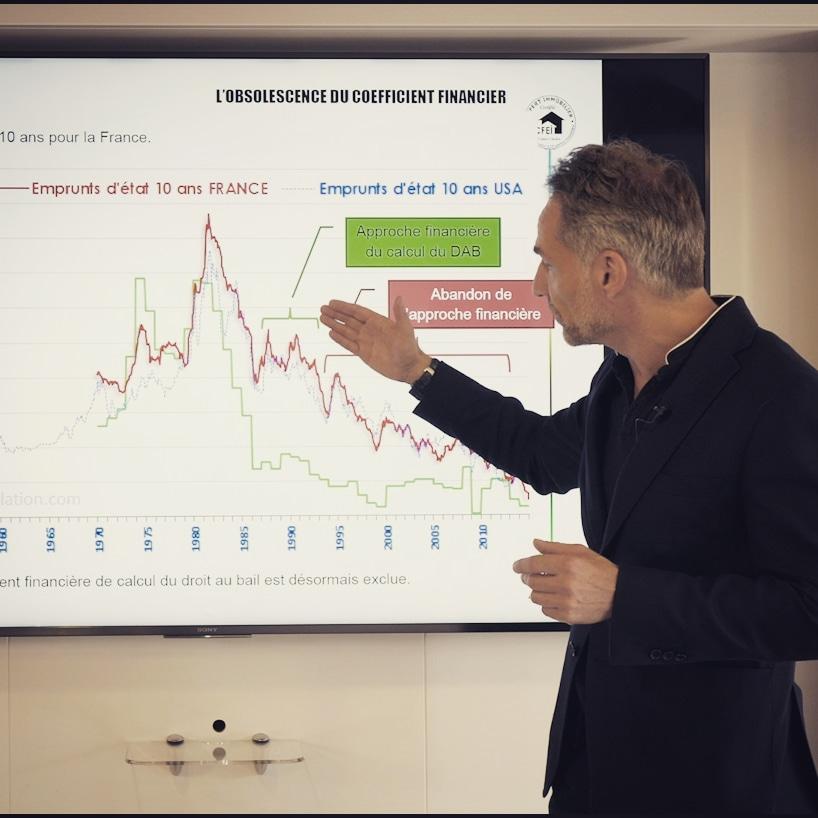 Philippe FAVRE-REGUILLON, intervenant au CFEI, expert spécialisé en matière de baux commerciaux et indemnités d'éviction