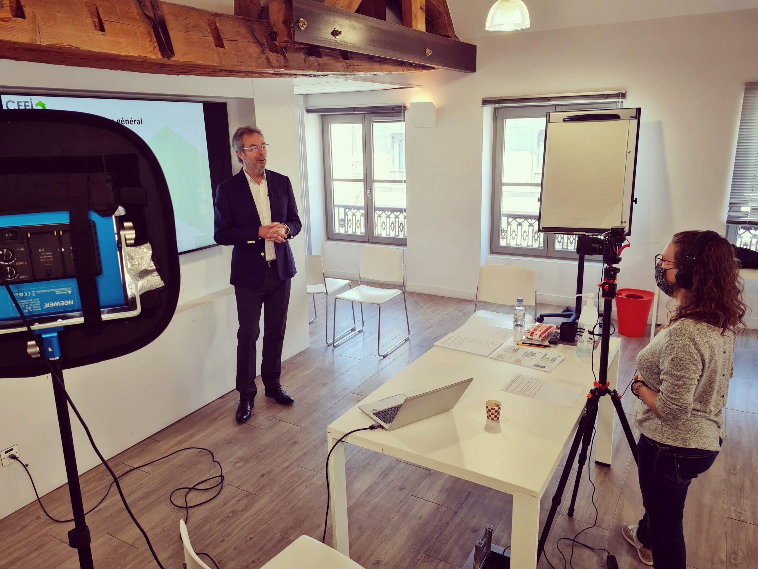 Ghislain du Vigier, expert immobilier spécialisé dans les biens professionnels, intervenant du CFEI : Centre de Formation à l'Expertise Immobilière
